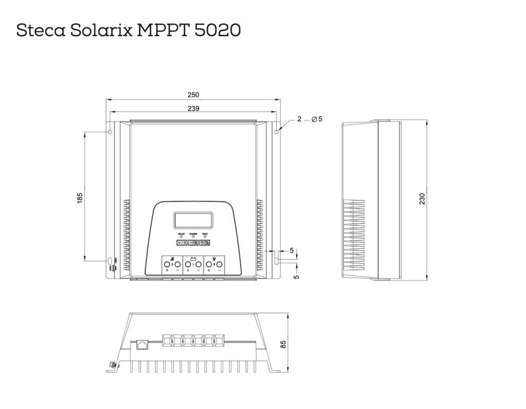 ESQUEMA SOLARIX MPPT